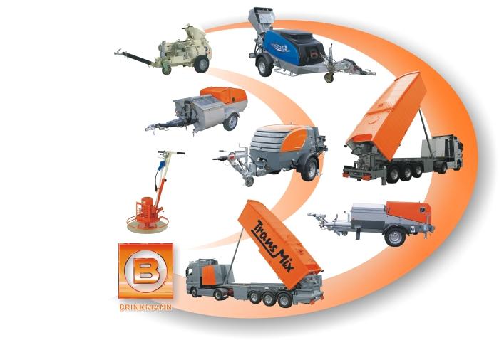 строительные машины BRINKMANN